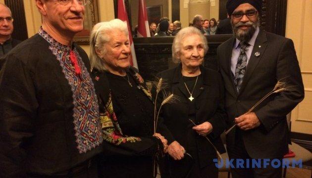 В парламенте Канады почтили жертв Голодомора