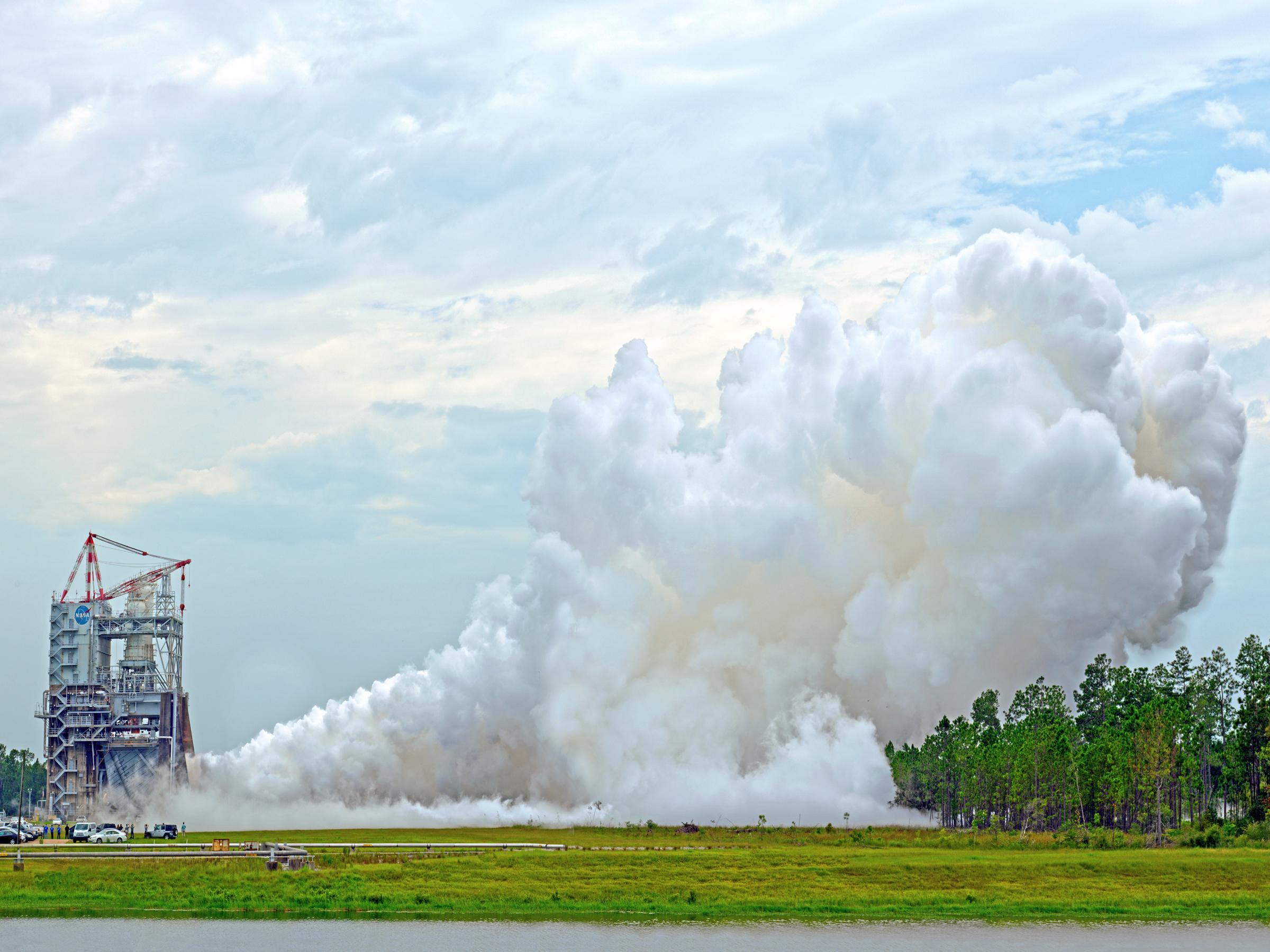 Испытания ракеты-носителя в США