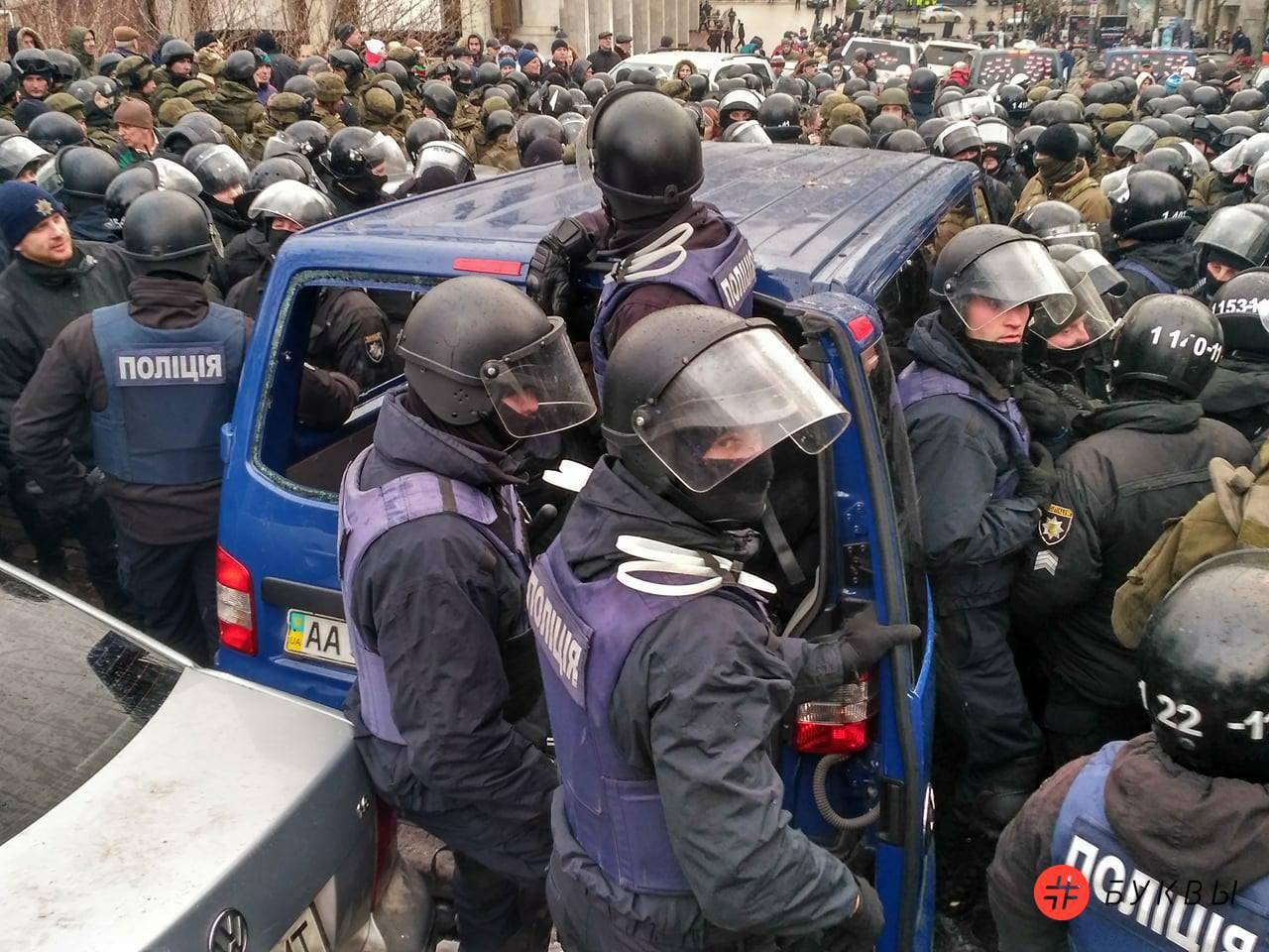Разбитый автобус силовиков_Саакашвили_07