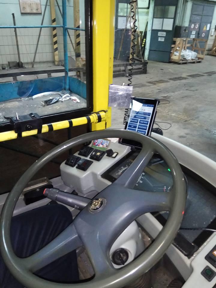 Установка оборудования в транспорте