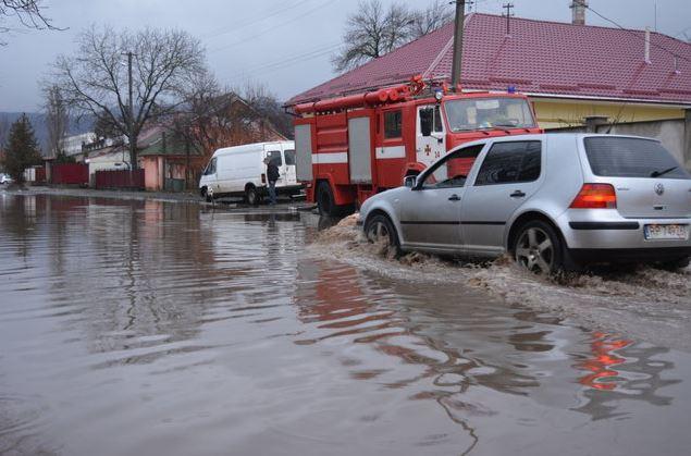 Паводок в Закарпатской области