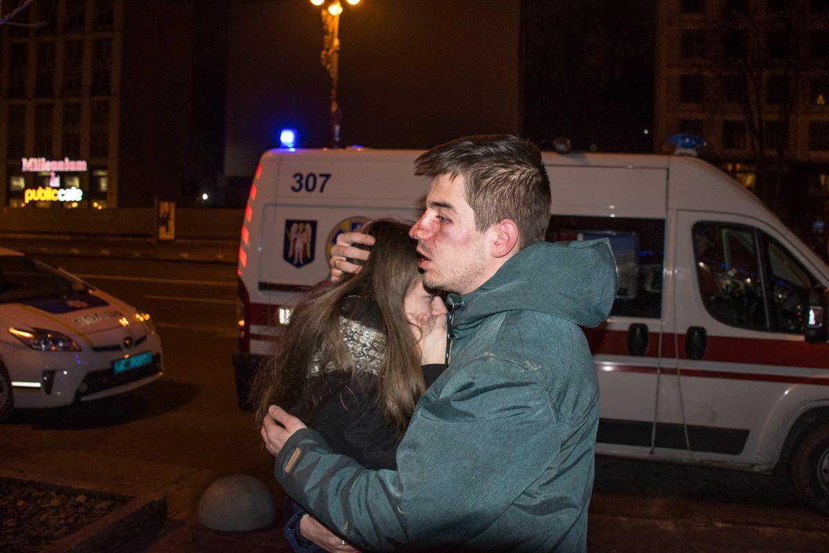 В Киеве сотрудники пиццерии избили посетителей