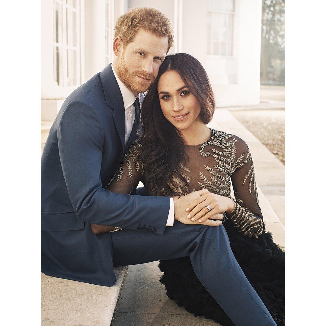 Обнародованы фото принца Гарри и Меган Маркл, приуроченные к их помолвке | Новини України - #Букви