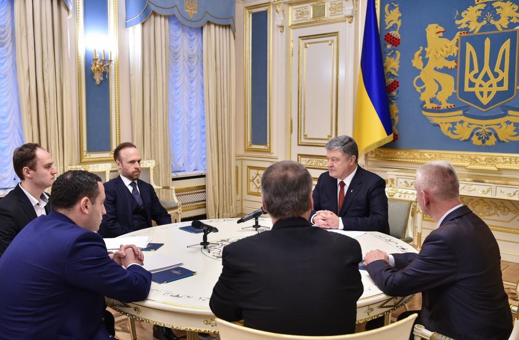 Встреча Порошенко и экспертов