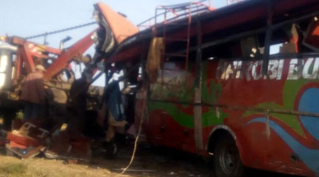ACCIDENT BUS CRASH