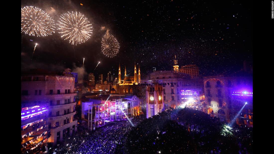 Новогоднее шоу в Ливане