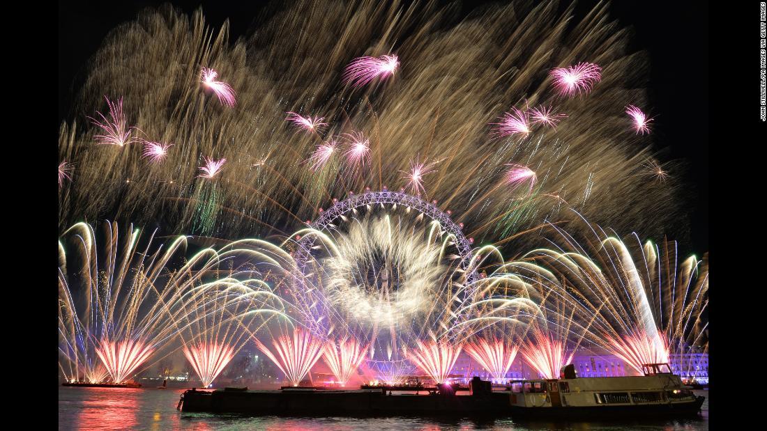 Новогоднее шоу в Лондоне