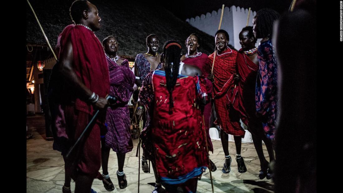 Новогоднее шоу в Занзибаре