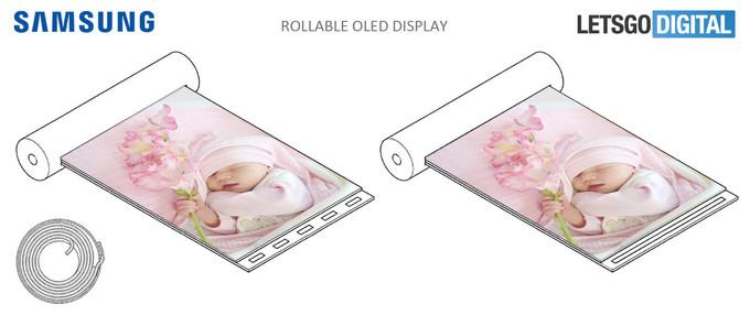 Samsung rollable display 1
