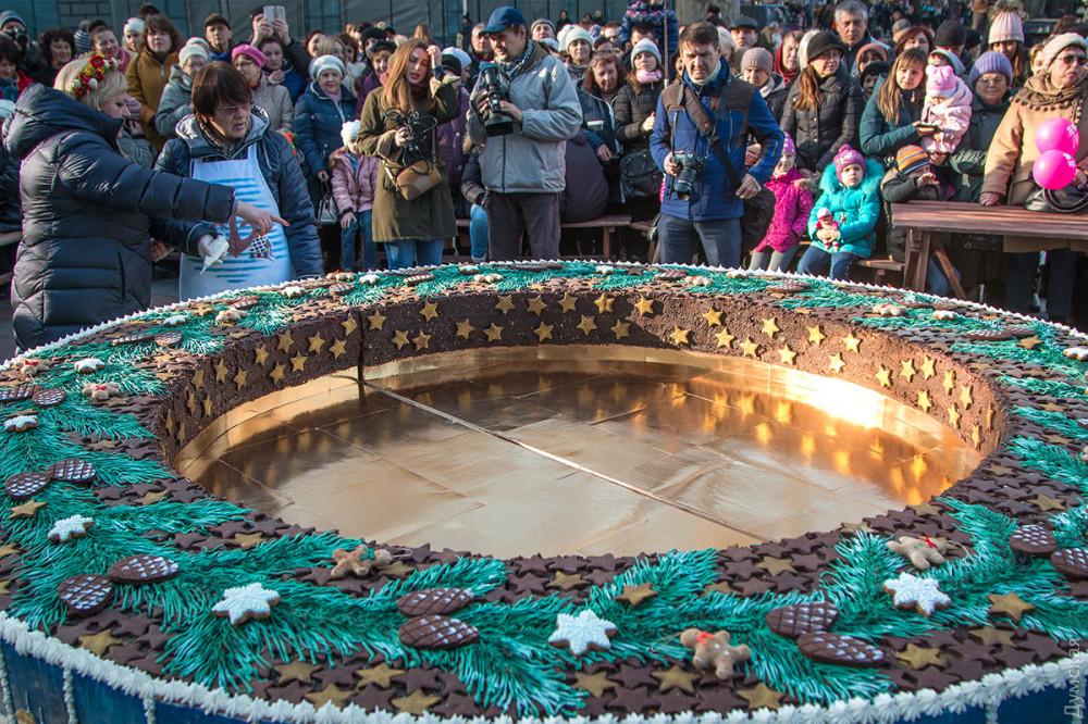 500-килограммовый рождественский калач