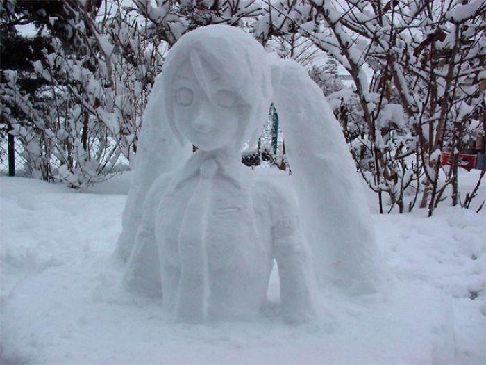 снеговик11