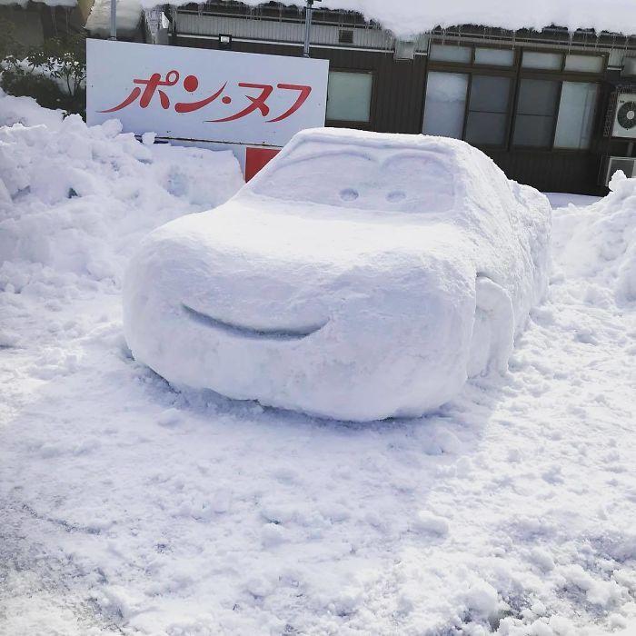 снеговик13