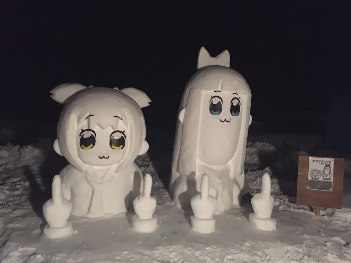 снеговик15