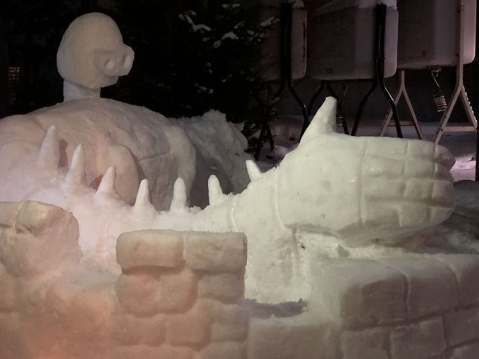 снеговик18