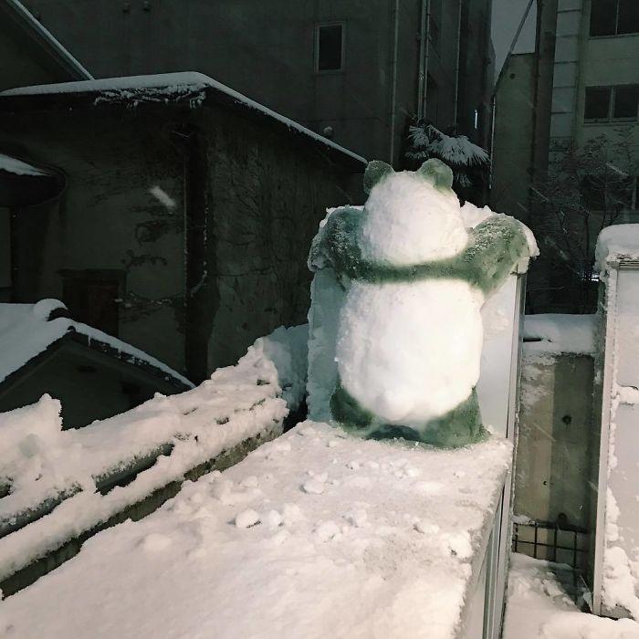 снеговик21