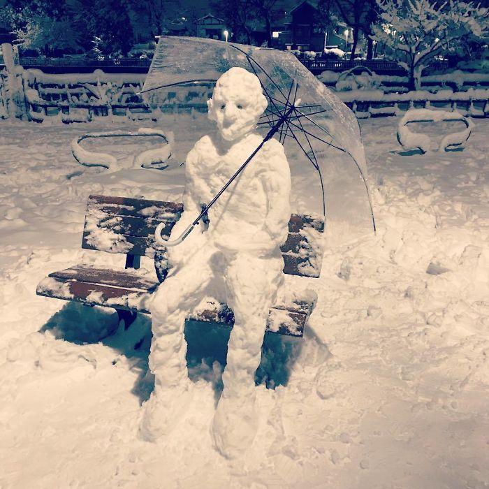 снеговик23