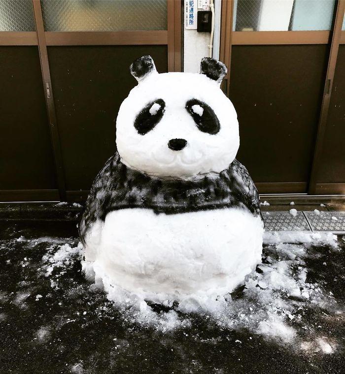 снеговик8