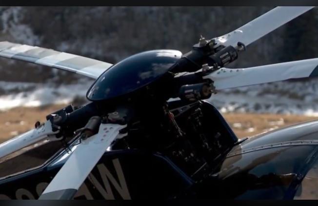 Крушение вертолета в США.