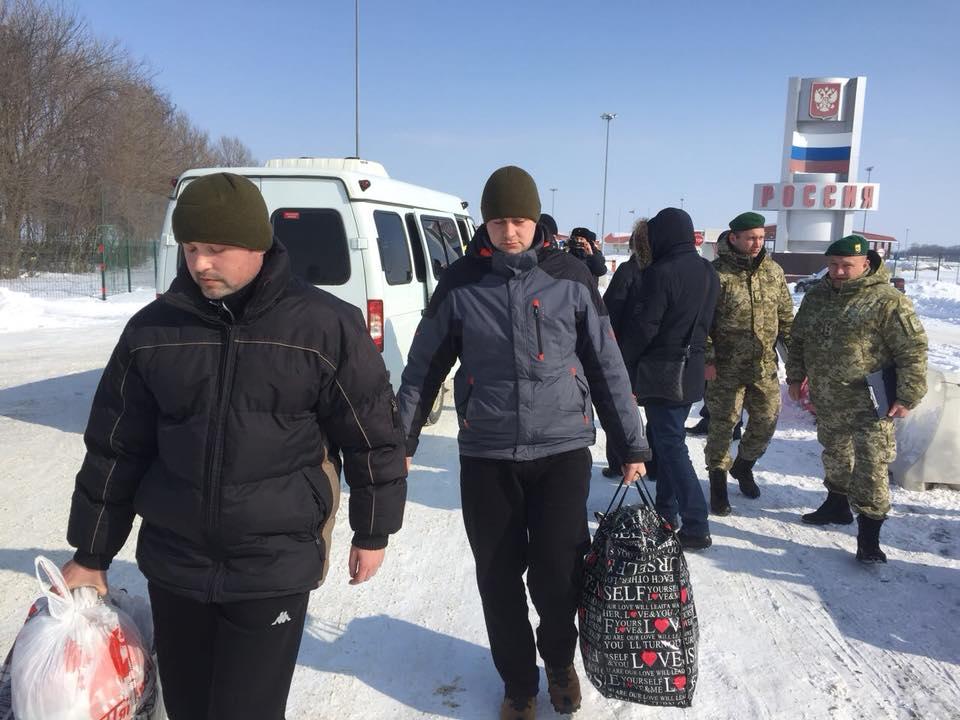 освобождение украинских пленных