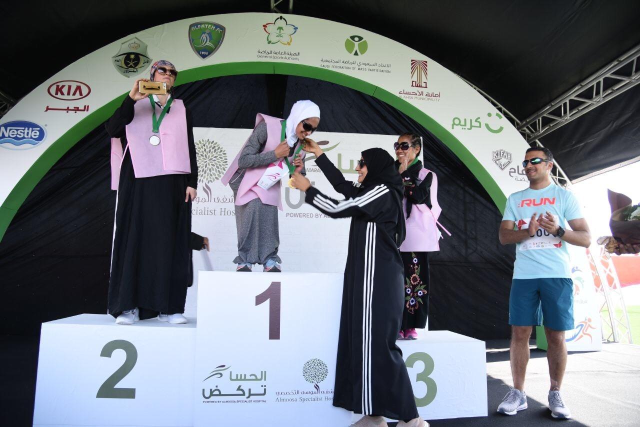 Первый марафон среди женщин в Саудовской Аравии.