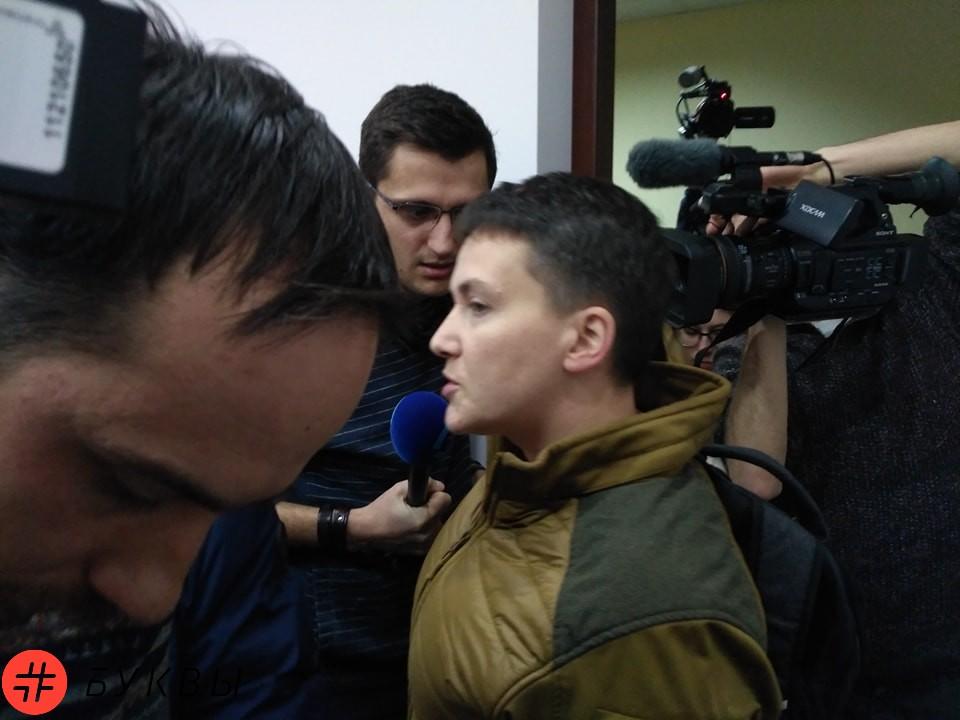 Савченко пришла в суд к Рубану_02