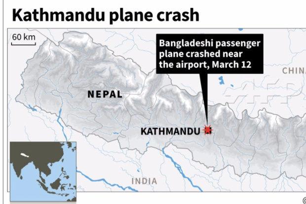 Крушение в аэропорту Катманду.