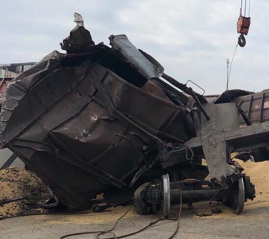 Инцидент в порту Черноморска.