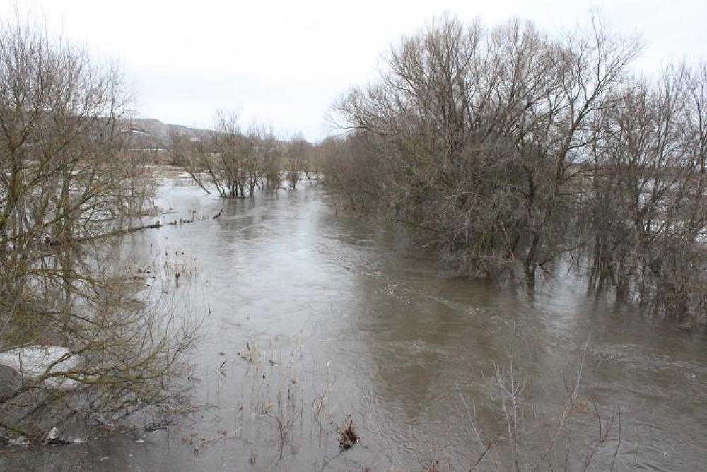 Паводок в Луганской области.