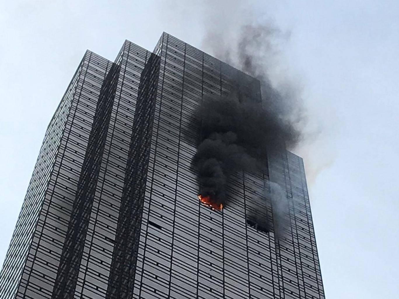 fire trump tower