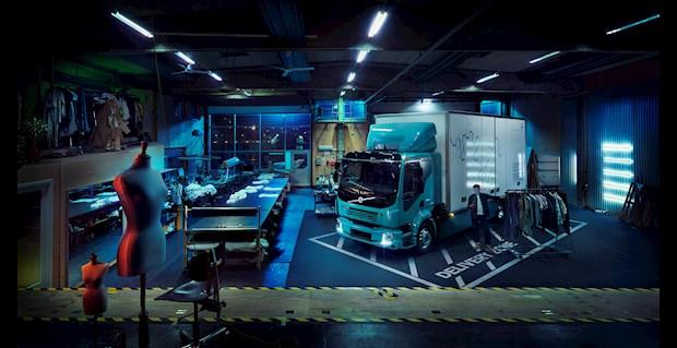 Электрический грузовик FL Electric.