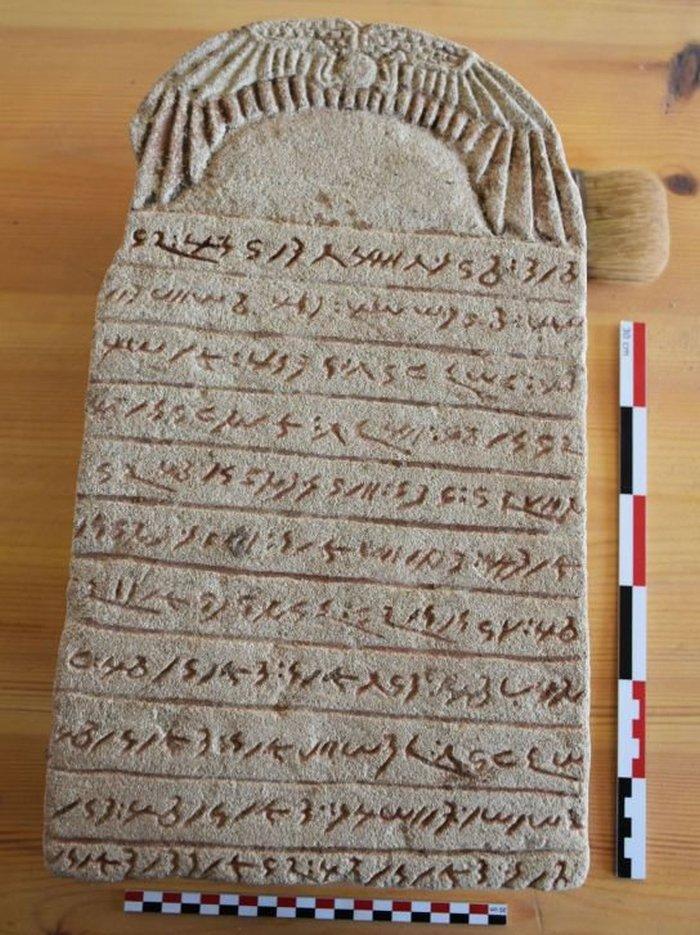 Таблички на древнем языке кушитов.