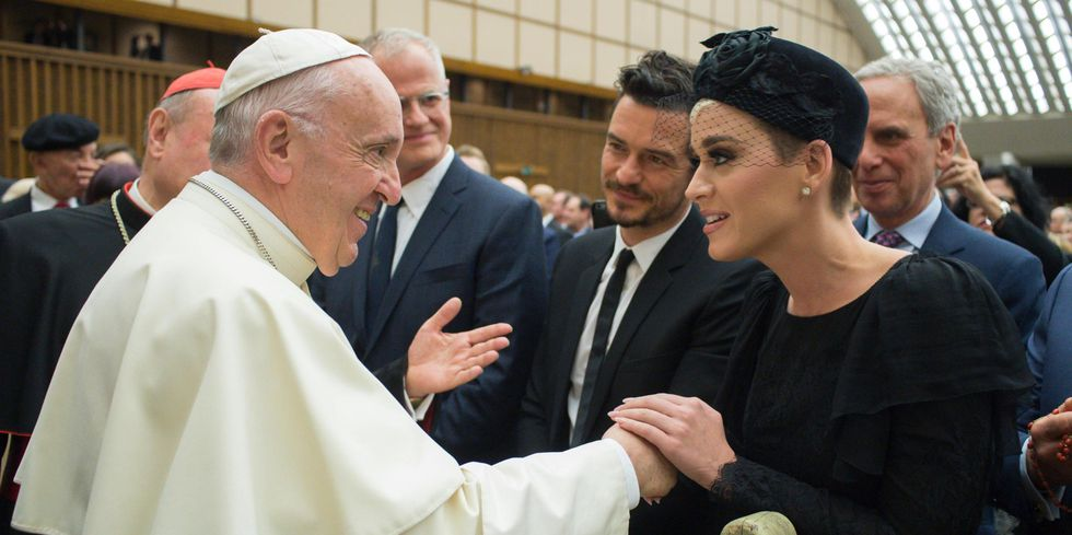 katy perry orlando bloom the pope 1524932264