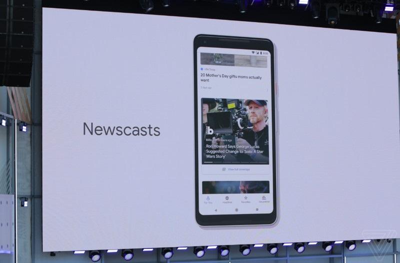 Обновление сервиса Google News.