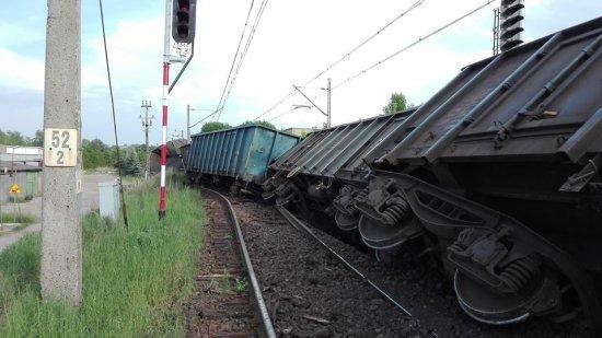 Инцидент с товарным составом в Польше.