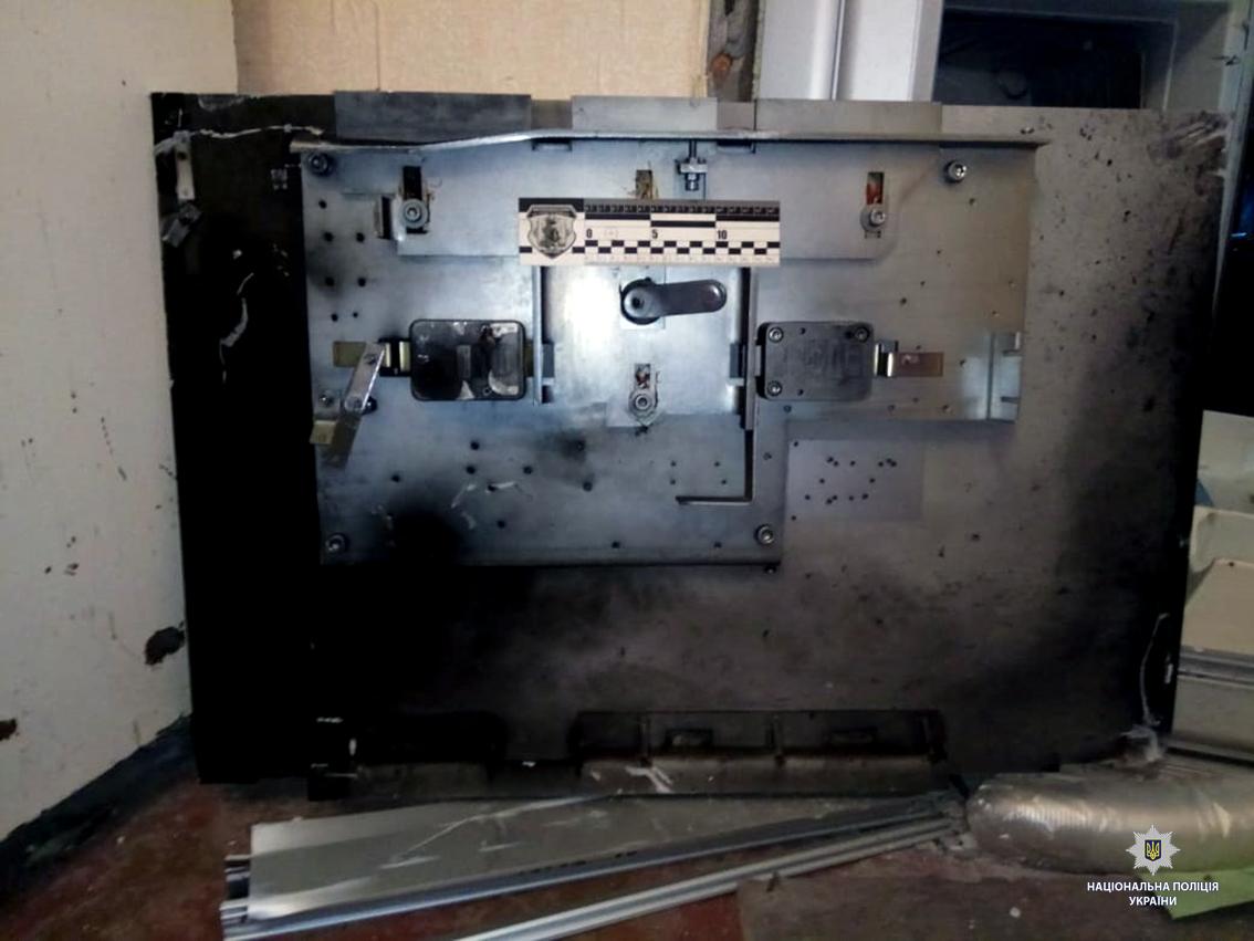 Взрыв банкомата в Харькове.