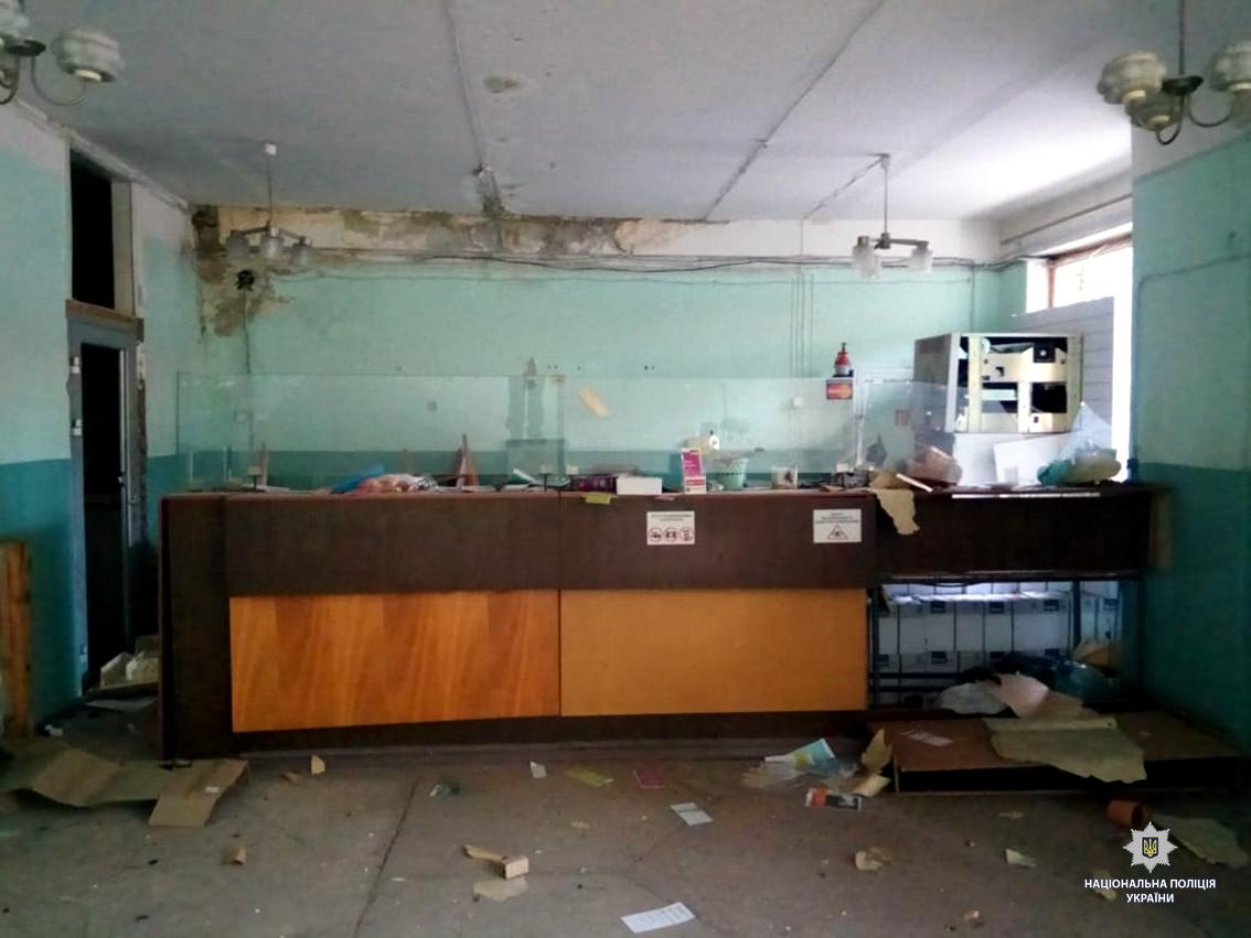 4Взрыв банкомата в Харькове.