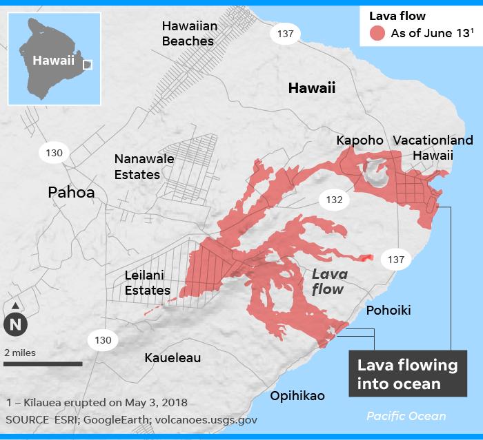 Самоцветы, обнаруженные на Гавайях.