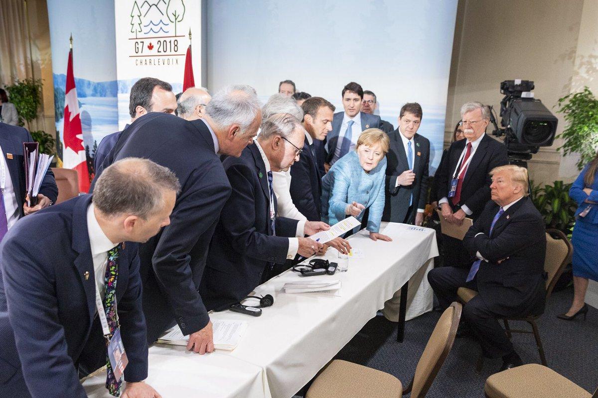 Трамп на саммите