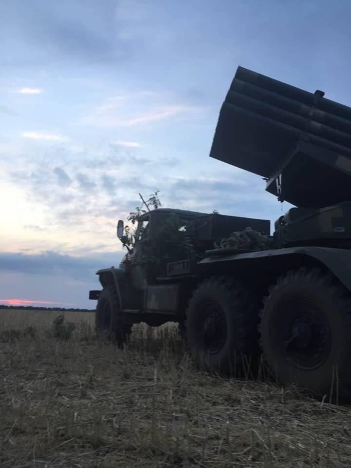 Учения у границы с аннексированным Крымом.