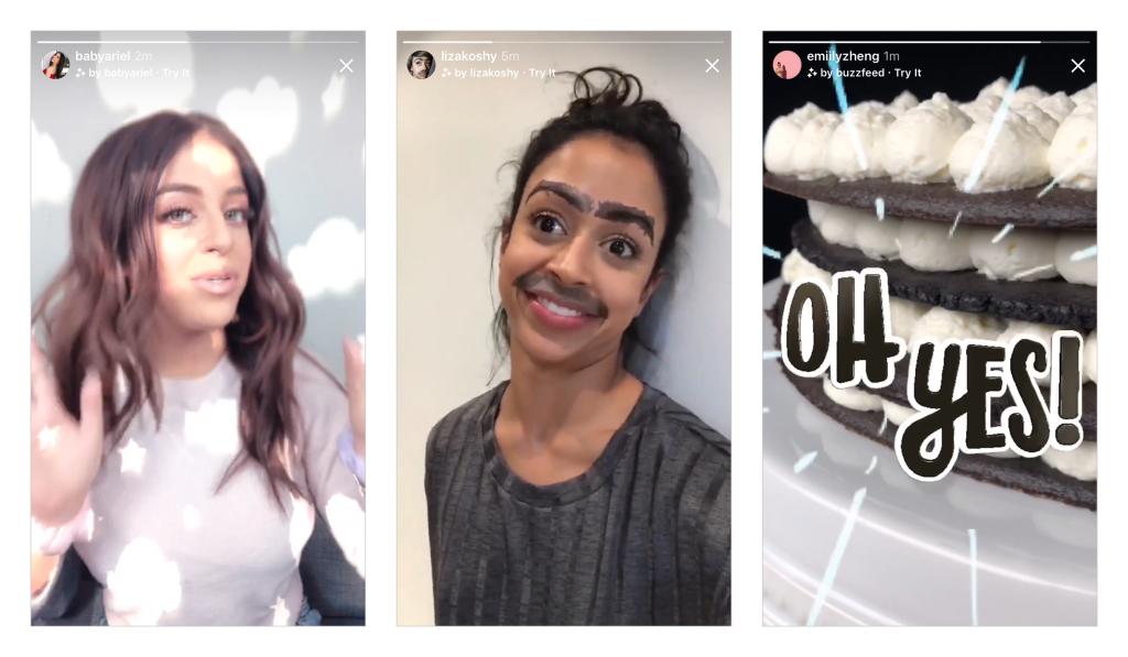 Новая функция в Instagram.