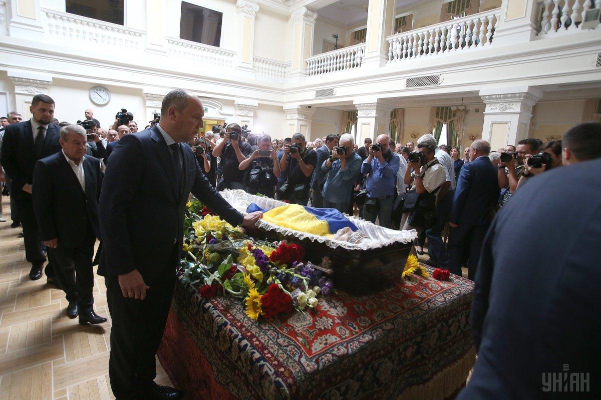 В Киеве простились с Левком Лукьяненко_10