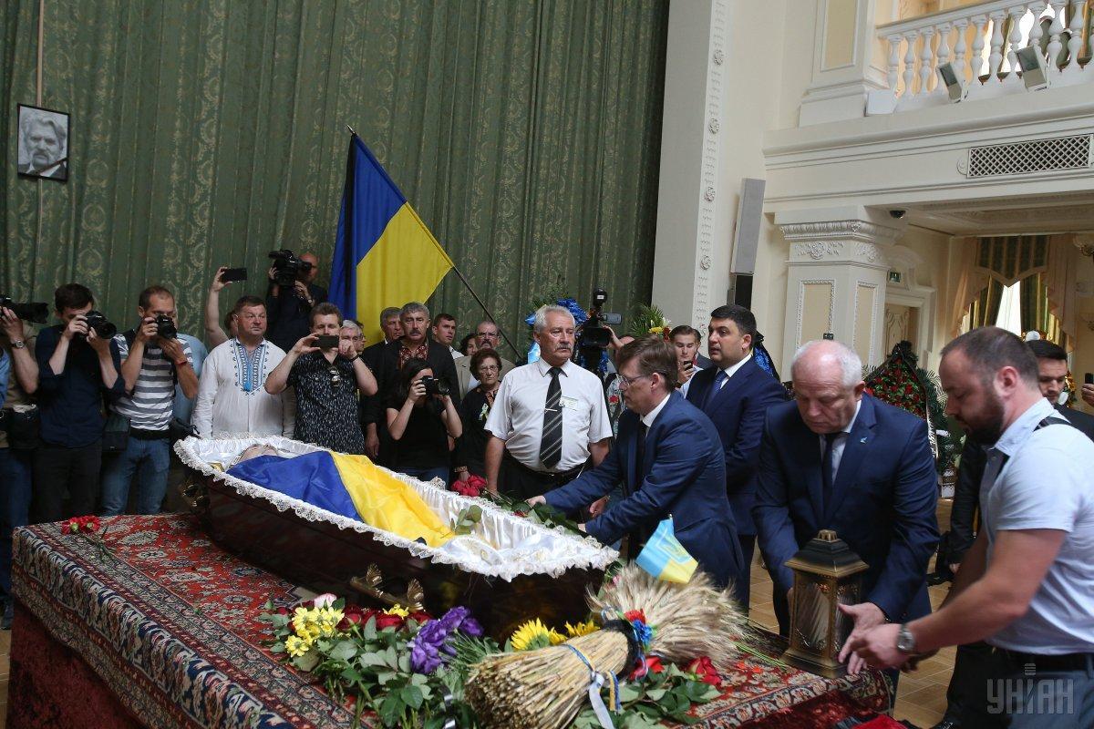 В Киеве простились с Левком Лукьяненко_11