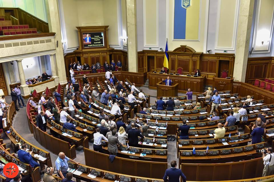 Закрытие сессии Верховной Рады.