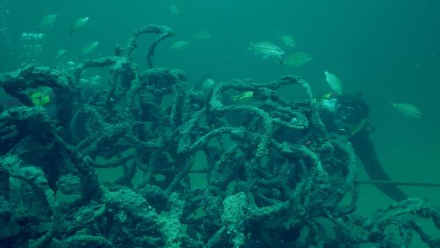 Подводный музей в США_04