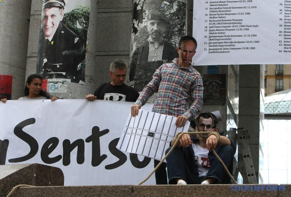 Акция в поддержку Сенцова_09