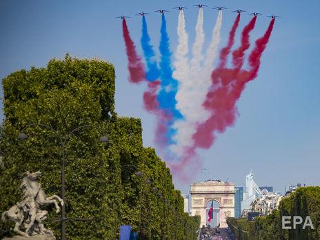 День Бастилии_флаг Франции