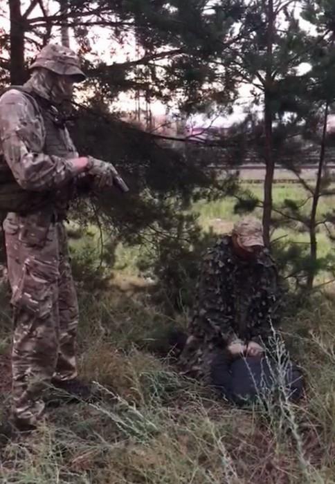 СБУ поймала диверсанта