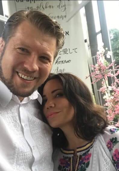 Виктория Сюмар и Дмитрий Христюк
