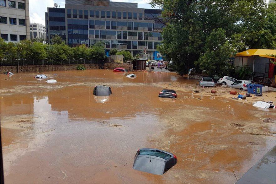 Наводнение в Греции