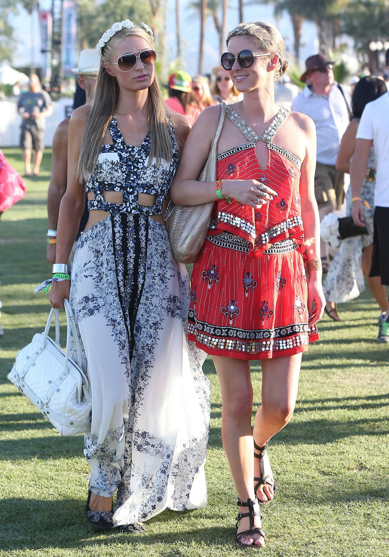 Перис Хилтон на фестивале Coachella